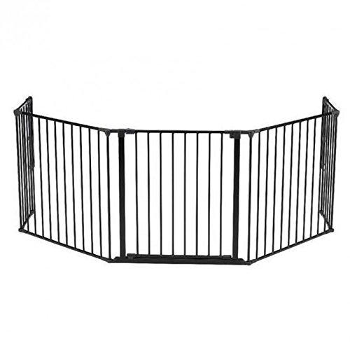 BABY-DAN-Barriere-Pare-Feu-Flex-XL-Noir-0