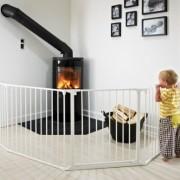 BabyDan-Barrire-Pare-feu-Flex-XL-Blanc-0-0