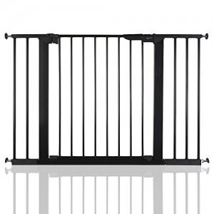 BabyDan-Premier-Bb-Barrire-de-Scurit-en-pour-Escalier-Noir-1055-1128cm-0