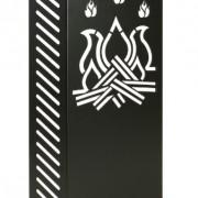 KALAMI-5-Protection-de-lenfance-cran-du-pole-barrire-de-scurit-pour-chemine-avec-des-aimants--hautes-tempratures-brevet-de-Firestyle-produites-en-Italie-0