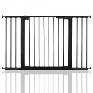 BabyDan-Premier-Bb-Barrire-de-Scurit-en-pour-Escalier-Noir-112-1193cm-0