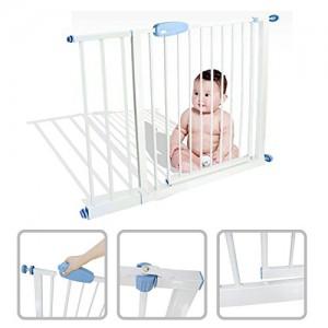 Babyfield-Barrire-de-scurit-enfant-acier-74--87-cm-Scurit-escalier-porte-et-couloir-Ouverture-en-deux-sens-Extensible-jusqu-102--115-cm-0