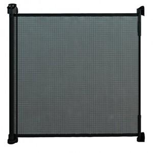 Gaterol-Active-Lite-Noir-Barrire-de-scurit-store-extensible-pour-escalier-et-porte-jusqu-140-cm-de-couverture-0