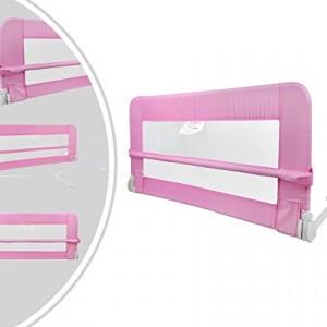 Leogreen-Couleur-rose-Barre-de-lit-bb-102-x-419-x-432-cm-23-kg-Tissu-amovible-et-lavable-Max-Charge-15-kg-0