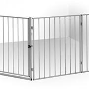 IB-Style-Barrire-de-Scurit-CATO-pour-chemine-en-acier-animal-fermer-zones-de-danger-couleur-ARGENT-0-0