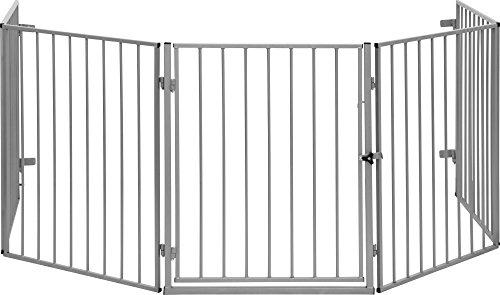 IB-Style-Barrire-de-Scurit-CATO-pour-chemine-en-acier-animal-fermer-zones-de-danger-couleur-ARGENT-0