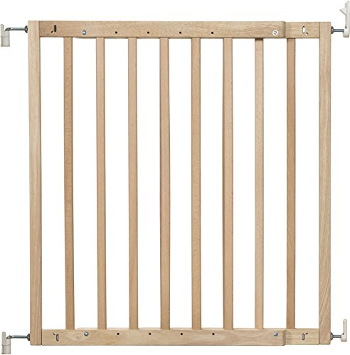 Badabulle-Color-Pop-Barrire-de-Scurit-Extensible-Enfant-Bois-Naturel-0
