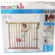 MUNCHKIN-Single-Panel-Wood-Barrire-de-scurit--fixation-murale-0-0