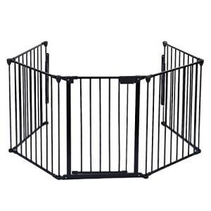 Barrire-de-scurit-enfant-bb-Pare-feu-de-chemine-grille-de-protection-porte-pare-pole-0