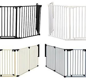 van-Hoogen--RONDO--Barrire-pour-chemine-6-tailles-190--490-cm-Hauteur-78-cm-5-couleurs-Utilisable-comme-cloison-protection-et-parc-pour-enfant-3noir-0