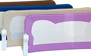 Barrire-de-lit-FINN-4-tailles-4-couleurs-Portable-Rabattable-avec-Safetybutton-Scurit-Bedrail-Safetyguard-120cm-x-42cm-BEIGE-0
