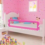 Barrires-de-lit-pour-enfants-150-x-42-cm-Rose-0-0