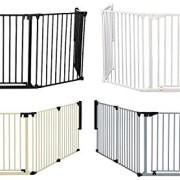 van-Hoogen--RONDO--Barrire-pour-chemine-6-tailles-190--490-cm-Hauteur-78-cm-5-couleurs-Utilisable-comme-cloison-protection-et-parc-pour-enfant-5noir-0