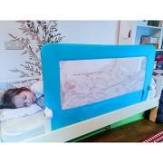 Tatkraft-Guard-Barrire-de-Lit-Bebe-Enfant-Pliable-pour-le-Sommeil-Scuritaire-Bleu-120X47X65cm-en-Acier-Plastique-Polyester-0-0