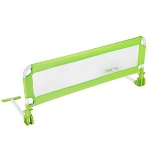 TecTake-Barrire-de-lit-pour-bb-enfant-systme-protection-portable-102cm-vert-0