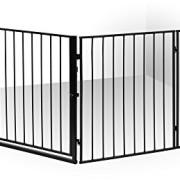 IB-Style-Barrire-de-Scurit-CATO-pour-chemine-en-acier-animal-fermer-zones-de-danger-couleur-NOIR-0-0