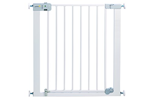 Safety-1st-SecurTech-Porte-en-mtal--fermeture-automatique--Blanc-0