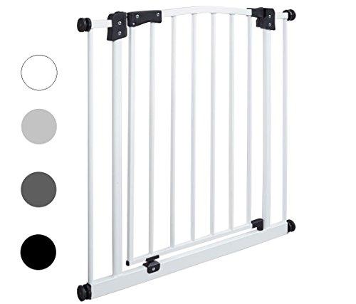 van-Hoogen-SWING-largeurs-de-62-cm--212-cm-Hauteur-de-77-cm-Sans-perage-Installation-facile-Barrires-de-scurit-pour-porte-et-escalier-en-4-coloris-Escalier-barrires-bb-chiens-0
