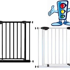van-HoogenTraffic-Light-barrire-de-protection-pour-la-porteescaliers-avec-feux-de-signalisation-73-222-cm-en-2-couleurs--coincer-sans-perage-Bbs-enfant-0