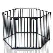 Lcp-Kids-Barrire-De-Scurit-Enfant-Grille-Protection-Chemine-Feux-Parc-Bebe-Pliable-Variant-5-Panel-1-Porte-0-0