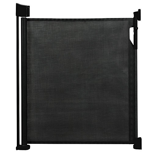 Safetots-Barrire-de-scurit-rtractable-Noir-0-cm--120-cm-0
