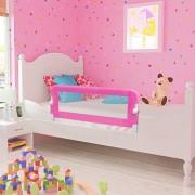 vidaXL-Barrires-de-lit-Barrire-de-scurit-pour-enfants-bb-102-x-42-cm-Rose-0-0