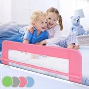 Infantastic-Barrire-de-lit-Pliable-en-Taille-et-Choix-de-Couleur-102-42cm-150-42cm-Protections-de-lit-Barrires-de-lit-pour-bb-Protection-Contre-Les-Chutes-0-0