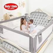 ZEHNHASE-Barrire-de-Lit-Enfants-Bbs-Protection-Bord-de-Lit-pour-Scurit-des-Enfants-Bbs-Portable-Bedrail-Safetyguard-180cm-Gris-1pc-0