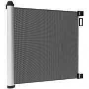 Leogreen-Barrire-de-Scurit-Bb-Barriere-Chien-pour-Escalier-et-Porte-Barrire-de-Scurit-Extensible-et-Enroulable-0cm-125cm-Systme-de-Verrouillage-dune-Main-Installation-Facile-0